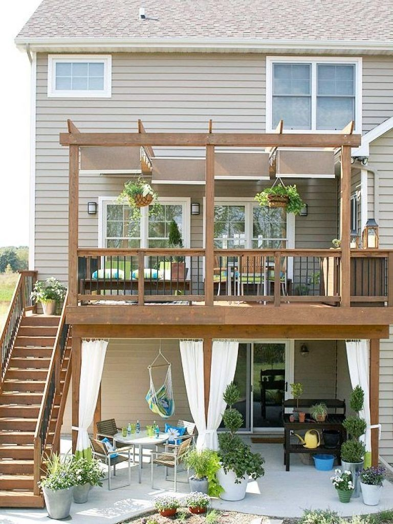 Best 25 Second Story Deck Ideas On Pinterest Walkout Basement Second Floor Balcony Design