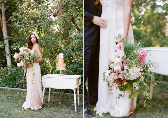 English Garden Wedding Inspiration Photo By Tonya Joy Cake Sweet And Saucy