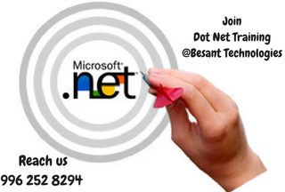 #dotnet #dotnettraining #dotnettraininginchennai Dot Net allows usage of multiple languages. Besant Technologies offers dotnet training with real time examples