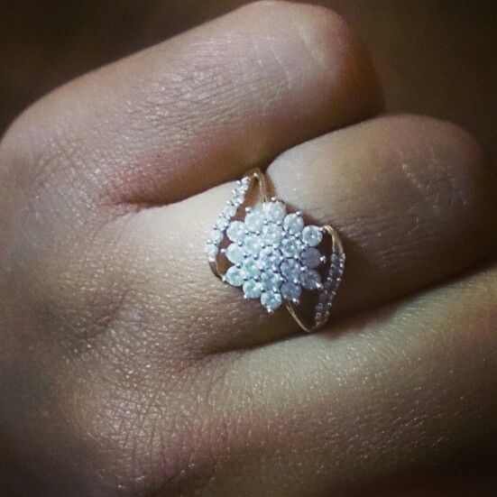 Diamonds are forever Tanishq diamond wedding ring Jewellery