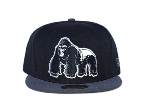 outlet store 87636 42948 Silverback Gorilla 59Fifty Fitted Cap