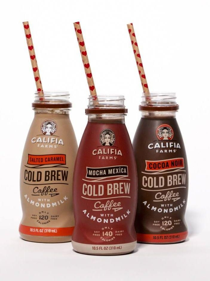 Califia Farms Iced Coffees with Almond Milk - Now available in single serve and tons of flavors! (dairy-free, vegan, soy-free) #icedcoffee