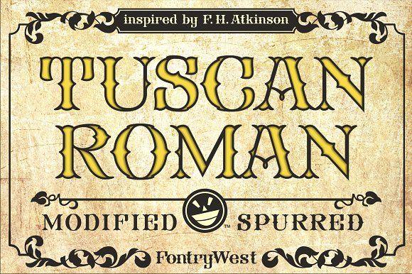 FHA Tuscan Roman  @creativework247