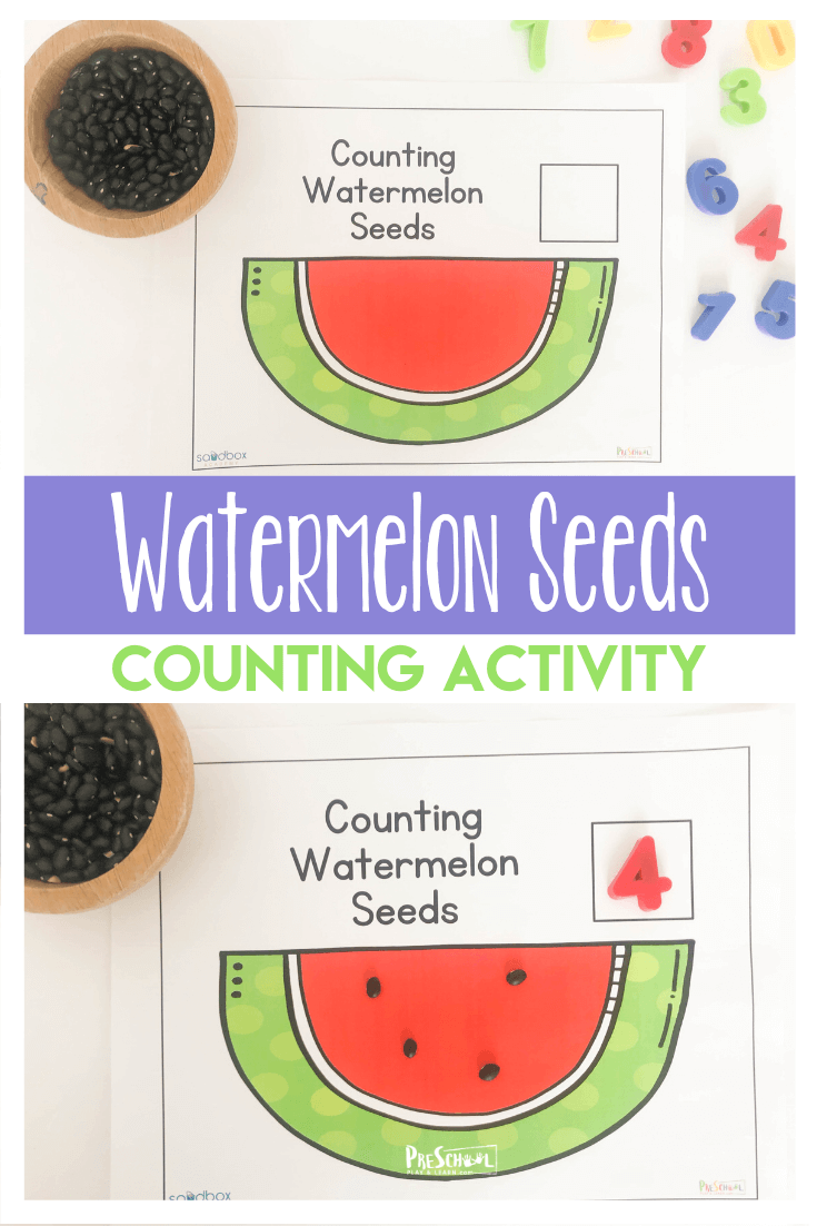 Free Counting Watermelon Worksheets Counting Activities Preschool Math Activities Preschool Preschool Counting Worksheets [ 1102 x 735 Pixel ]