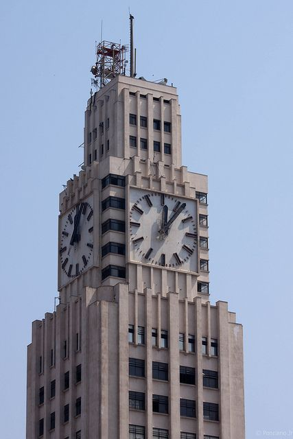 Relógio da Central do Brasil - Rio de Janeiro Rio De Janeiro, Edifício Altino Arantes, Brasil, Passa, Tempo, Imagens, Art Deco, Willis Tower, Big Ben