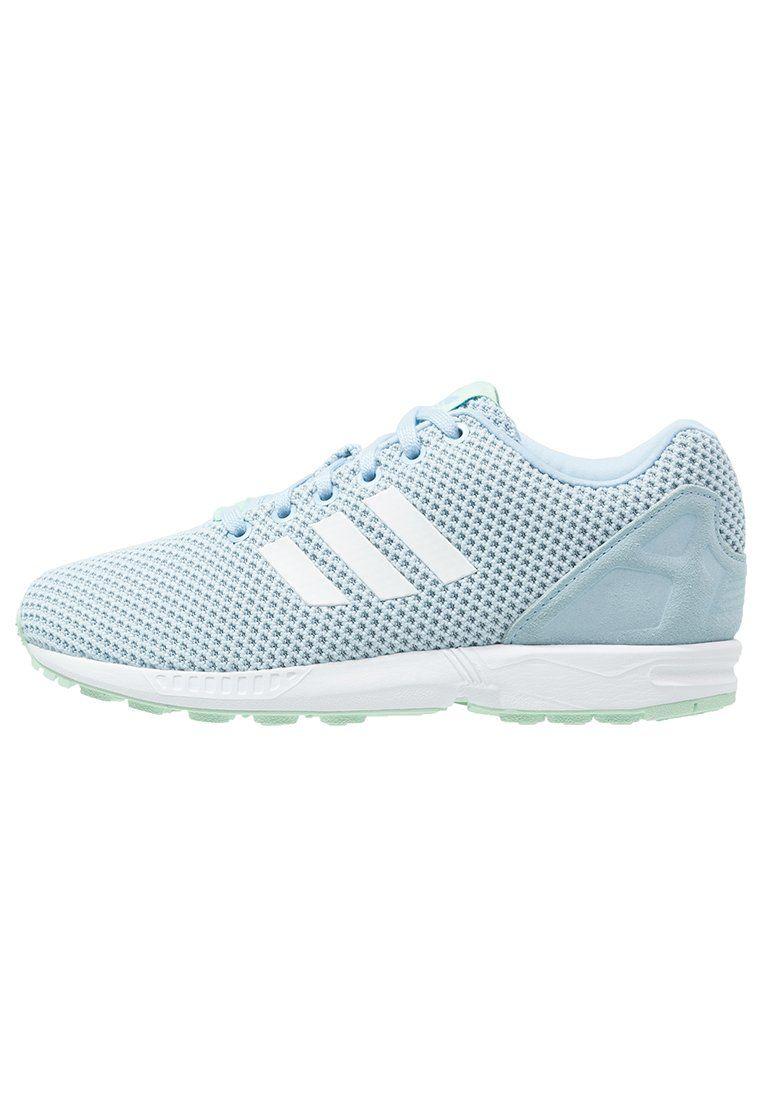 sale retailer b93f9 2a276 ¡Cómpralo ya!. adidas Originals ZX FLUX Zapatillas clear sky white frozen