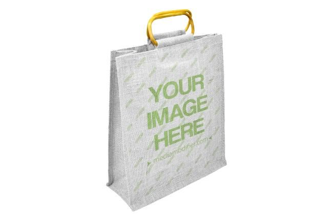 Download Generate A Shopping Bag Mockup Online Upload Your Image That You Wish To Show On The Cloth Bag Choose The Bag Color And Hit The Bag Mockup Bags Shopping Bag