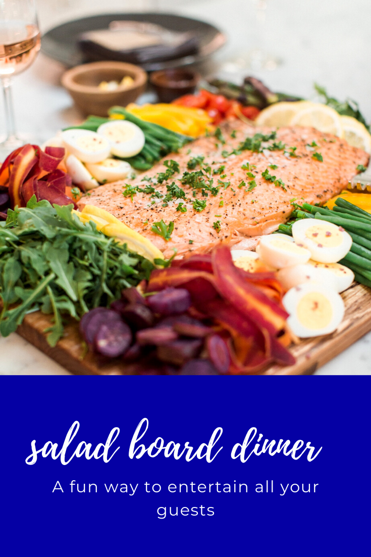 Salad Board In 2020 Dinner Dinner Party Recipes Best Salad Recipes