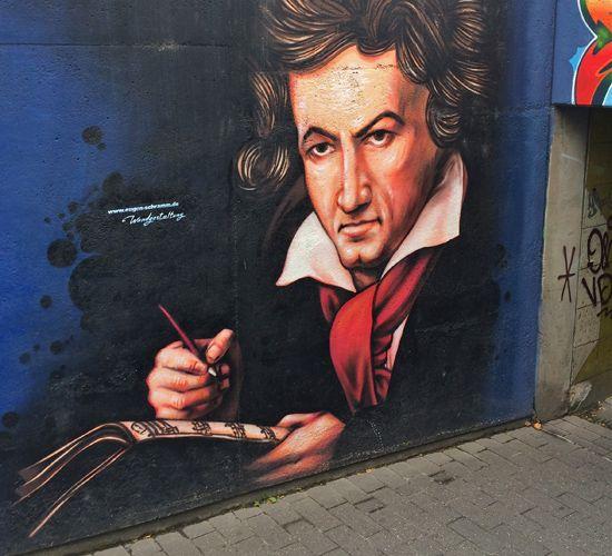Beethoven, stolzer Hirnbesitzer