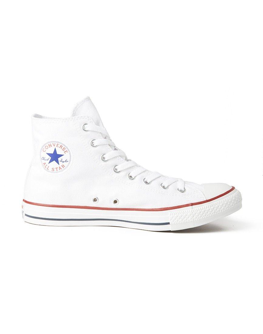 5c58bd23848e80 Converse Chuck Taylor All Star Hi-Top Plimsolls - Men s Shoes at The Idle  Man