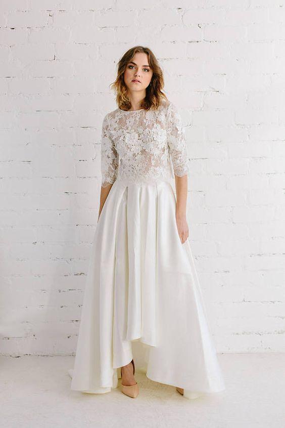"""Photo of """"Wedding Dresses: Two Pieces"""" ~~ Rosario Contreras ~~"""