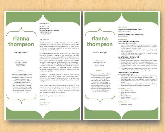 Green Bracket Modern Elegant Microsoft Word Printable By Inkpower