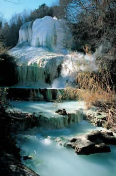 Fosso Bianco ~ Bagni San Filippo, Tuscany, ITALY | Waterfalls ...