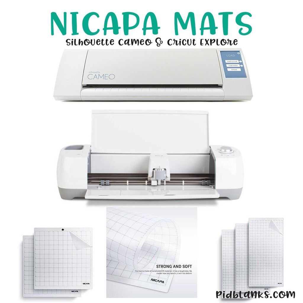 Nicapa Mats For Silhouette Cameo And Cricut Explore Cameo Cricut Cricut Explore