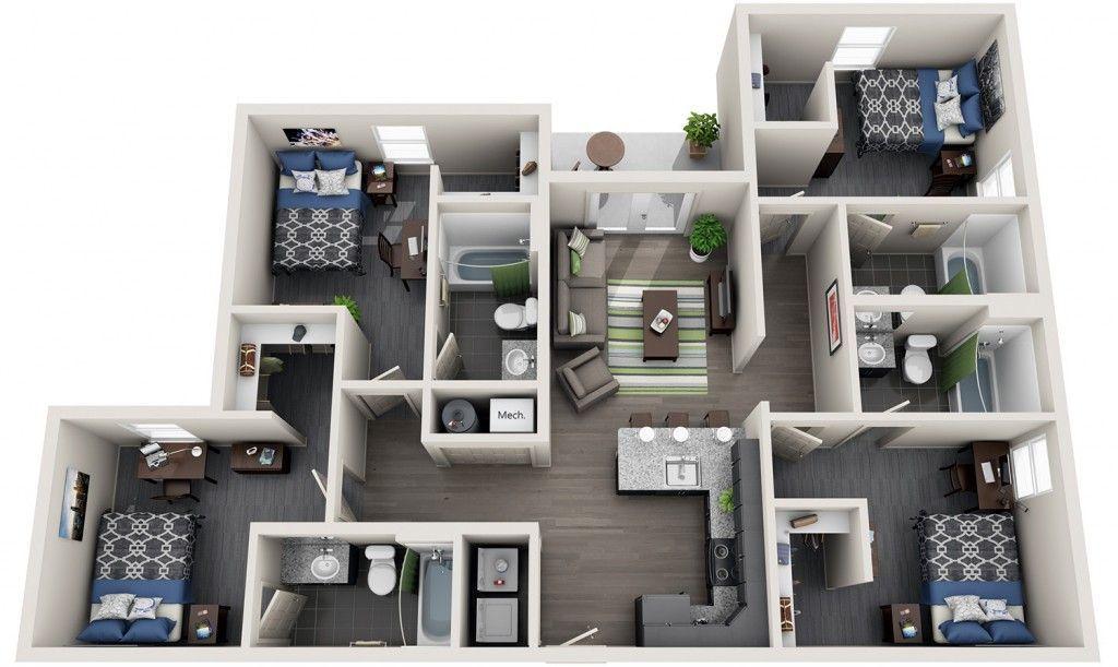 10 Enchanting Wooden Counter Top Bathroom Vanities Ideas Bedroom Floor Plans Apartment Floor Plans Student House
