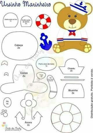 Pin von josabete glover auf Doll Patterns | Pinterest