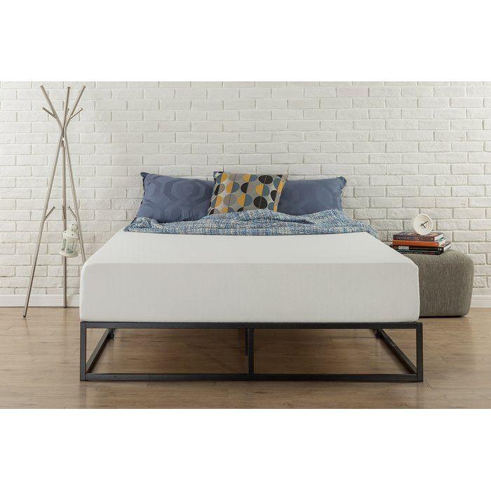 Metal fetter platform bed | Condo Makeover | Pinterest | Mandalas