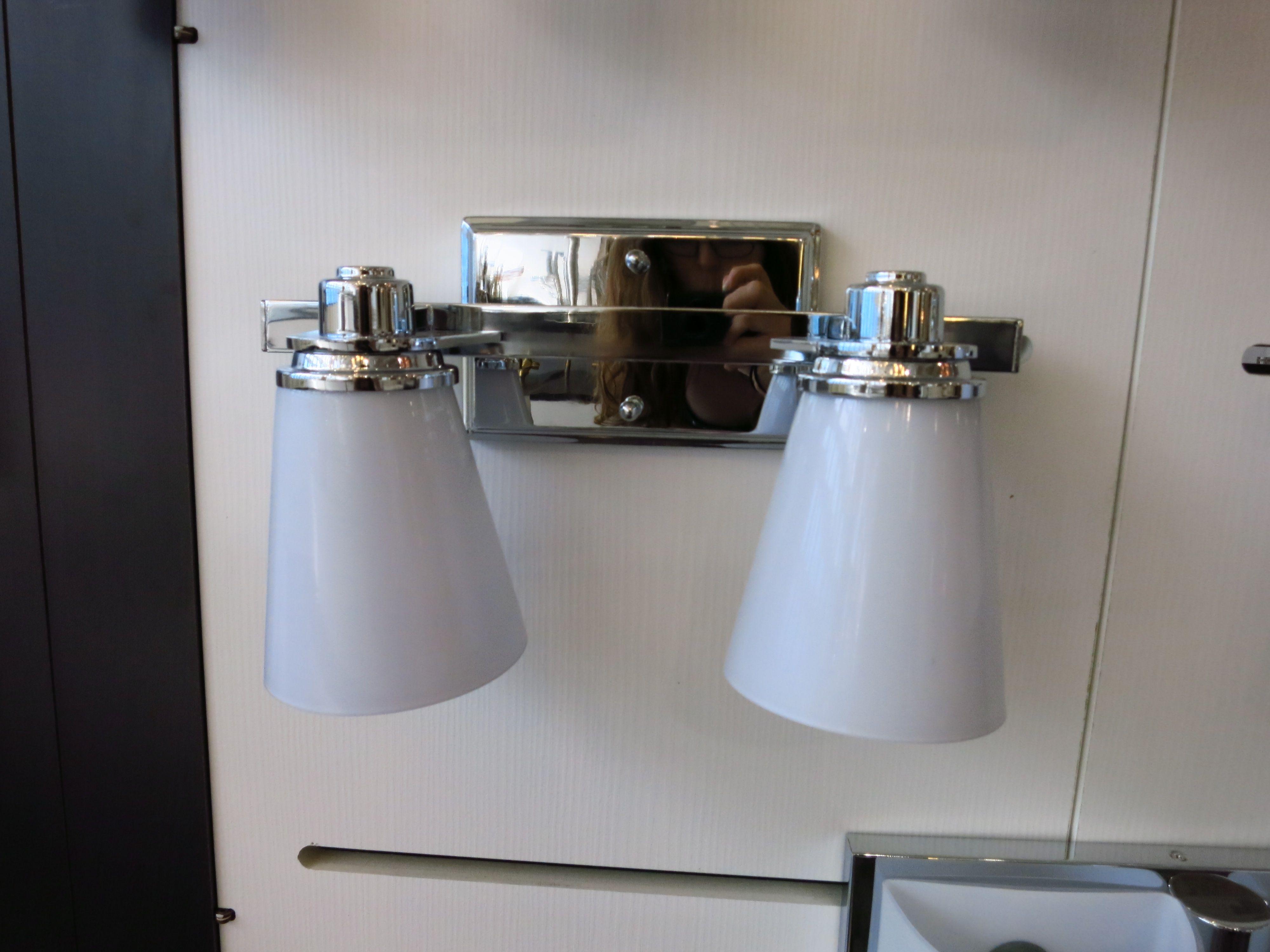 Bathroom Sconces Brushed Nickel avon 5552cm sconcehinkley lighting from waterspot. shown in