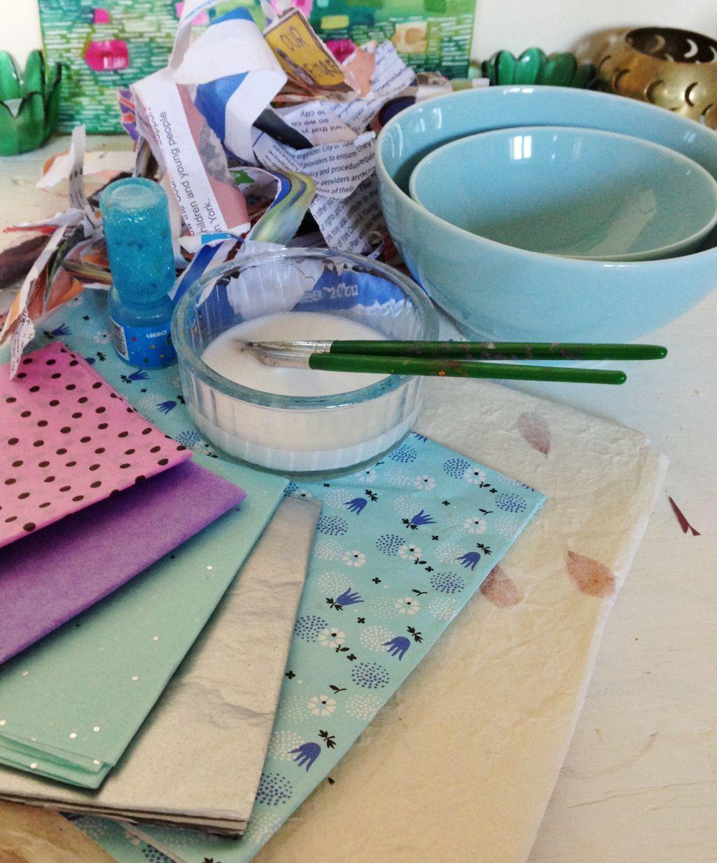 Paper Mache Materials