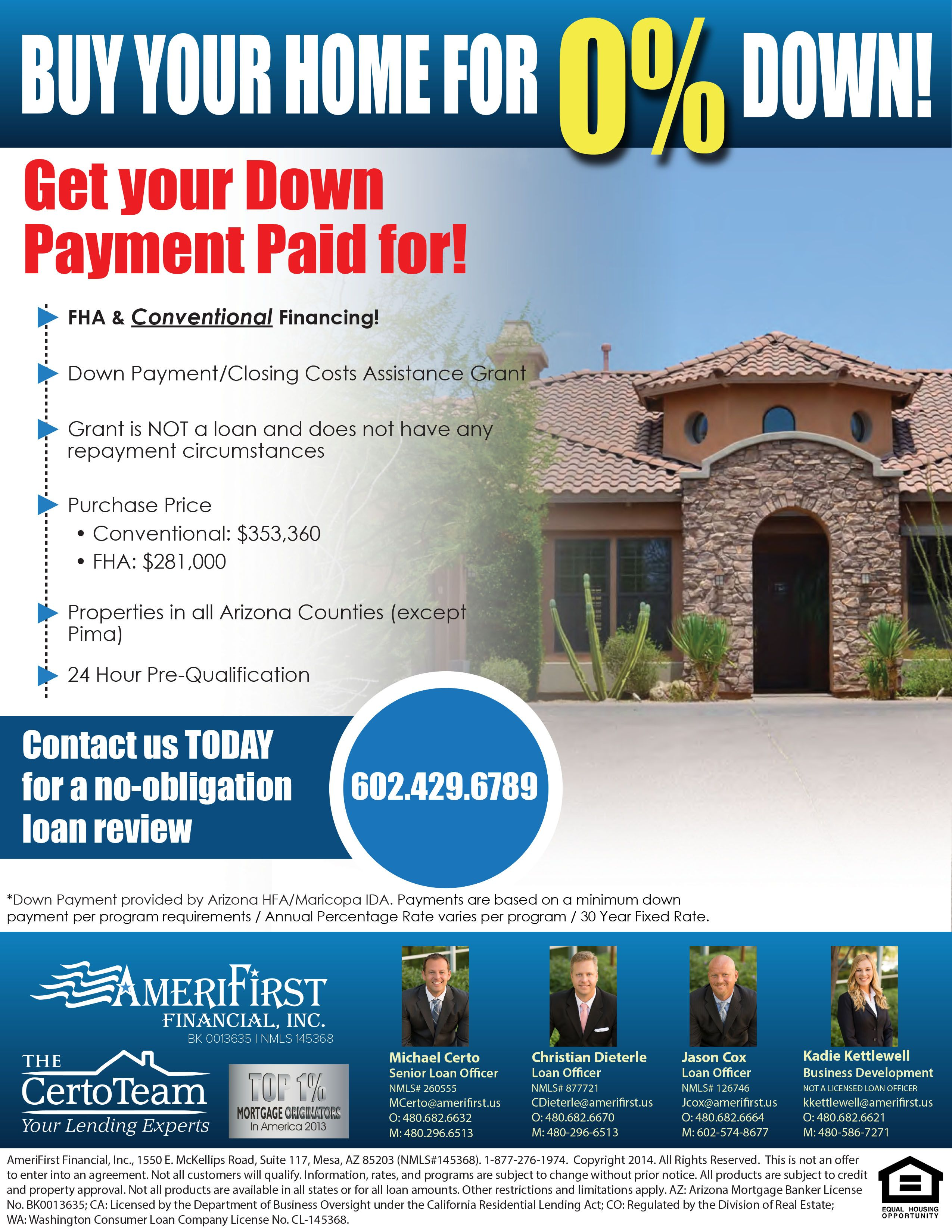 Pin On Arizona 0 Down Home Loans Available