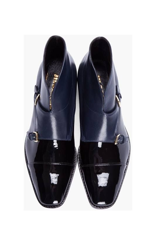 Jil Sander Leather Monkstrap Derby Shoes