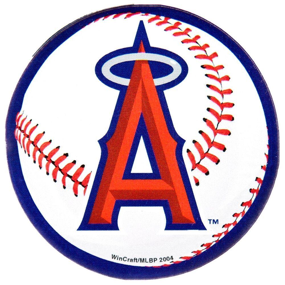 Anaheim Angels Logo Acrylic Magnet Angels Baseball Team Angels Baseball Angels Logo