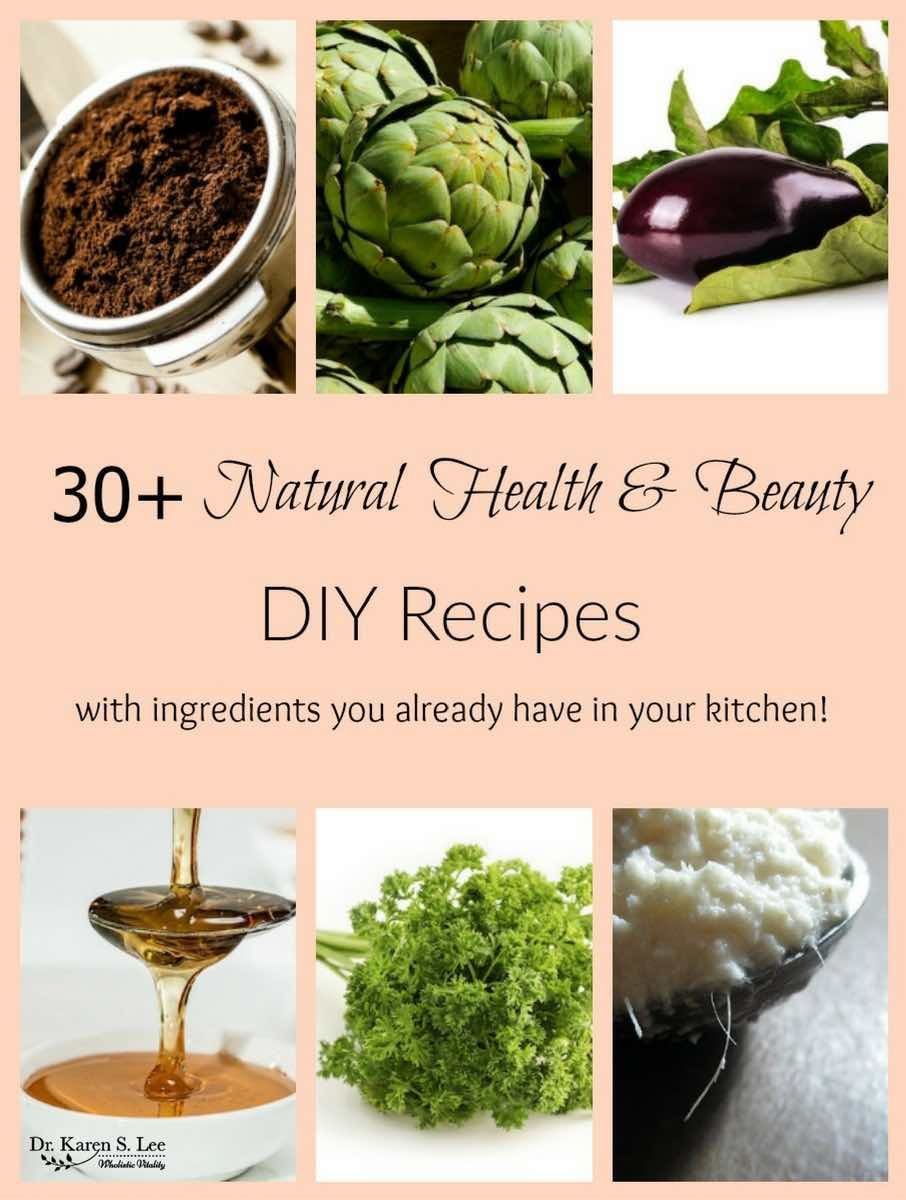 Try these natural DIY beauty recipes with healthy, all natural ingredients  you have at home!