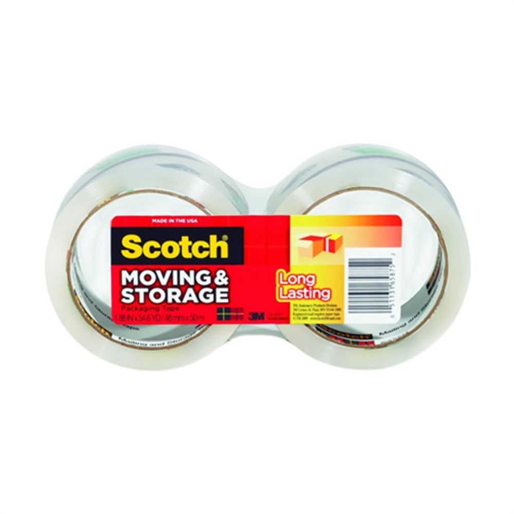 3M Scotch Moving And Storage Packaging Tape - 1ea | Great for long-term storage and label protection. myotcstore.com - Ezy Shopping, Low Prices & Fast Shipping.