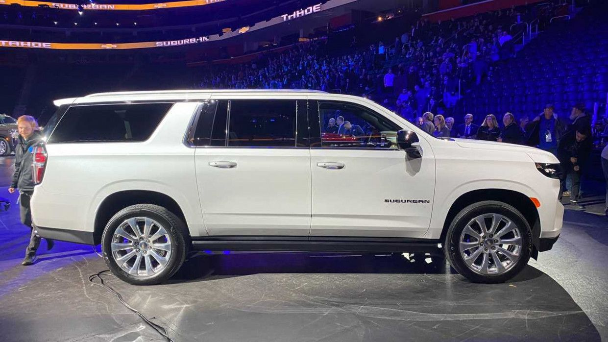 2021 Chevy Suburban 2500 Z71 Overview