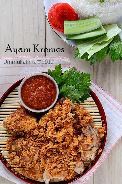 Simply Cooking And Baking Ayam Goreng Kremes Resep Ayam Ayam Goreng Resep Makanan India