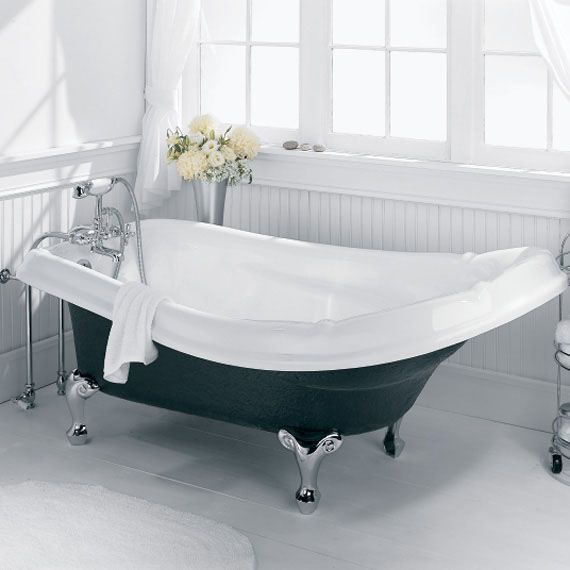 American Standard Reminiscence Slipper Soaking Bathtub Old
