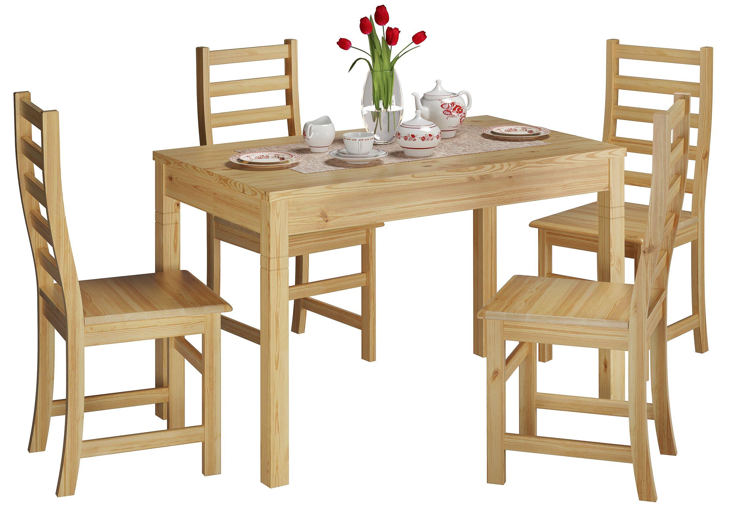 Klasse Esszimmer Set Aus Modernen Kuchenstuhlen Und Langem Holztisch Gunstiges Ensemble Fur Die Kleine Familie Esszimmer Set Stuhle Verstellbarer Tisch