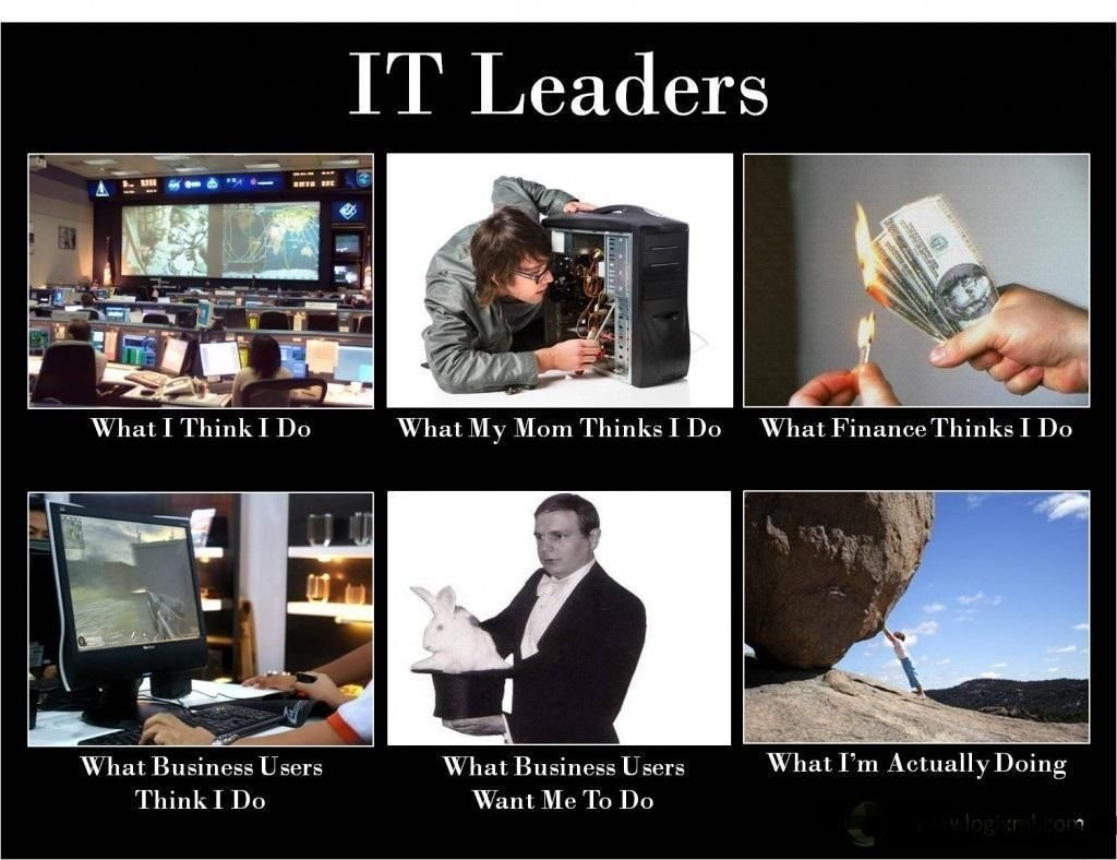 It leaders what they really do information technology