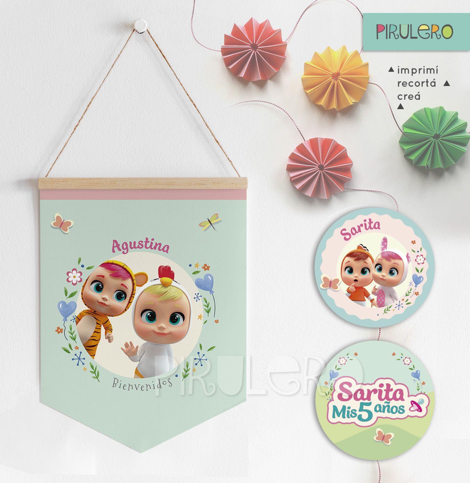 Kit Imprimible Bebes Llorones Lagrimas Magicas Cry Babies Party
