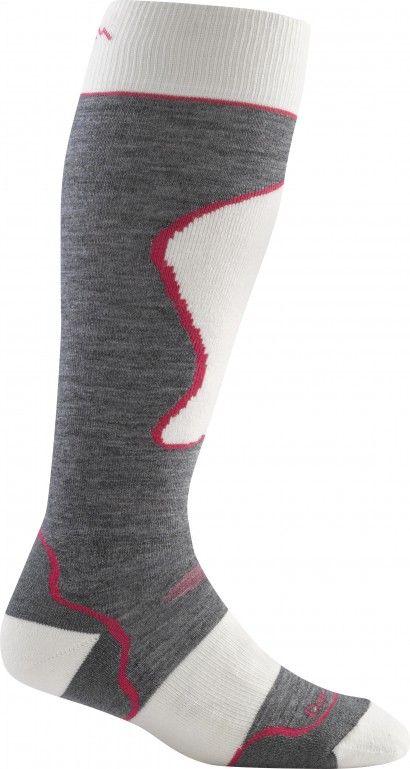 Style 1722 - 6 Pack Black//Gray Darn Tough Mens No-Show Light Cushion Athletic Socks, Medium