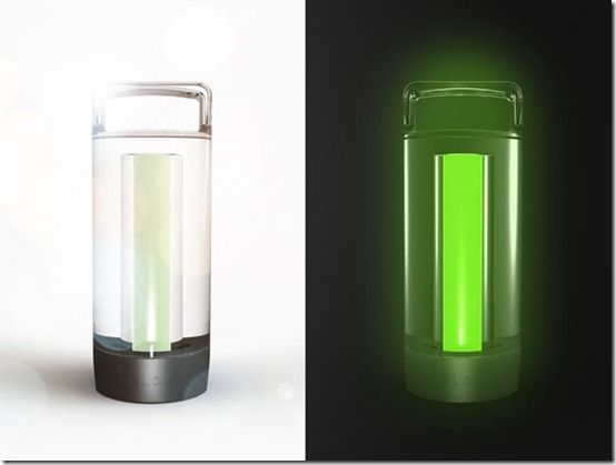 Glow – Innovative concept Light without batteries