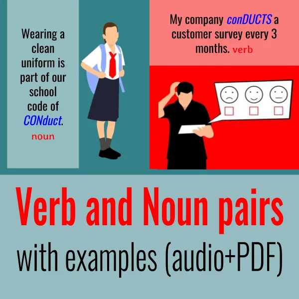 Verb And Noun Pairs With Examples Audio Pdf World English Blog In 2021 Nouns And Verbs Nouns Verb
