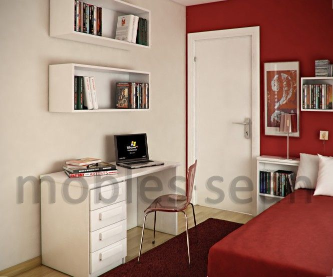 Simple Bedroom Design For Small Space Simple Red White Kids Room Box Shelving  Bedroom Ideas  Pinterest Design Inspiration