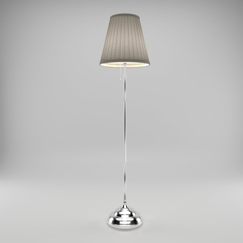 Sweeping Floor Lamp 3d Model Free Modeldezign Floor Lamp Lamp Flooring