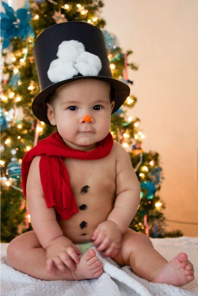 Baby Photography My Little Snowman Snow Baby 6 Months Christmas Photography Ideas Josiah Alexan Cute Baby Pictures Baby Boy Pictures Baby Christmas Photos