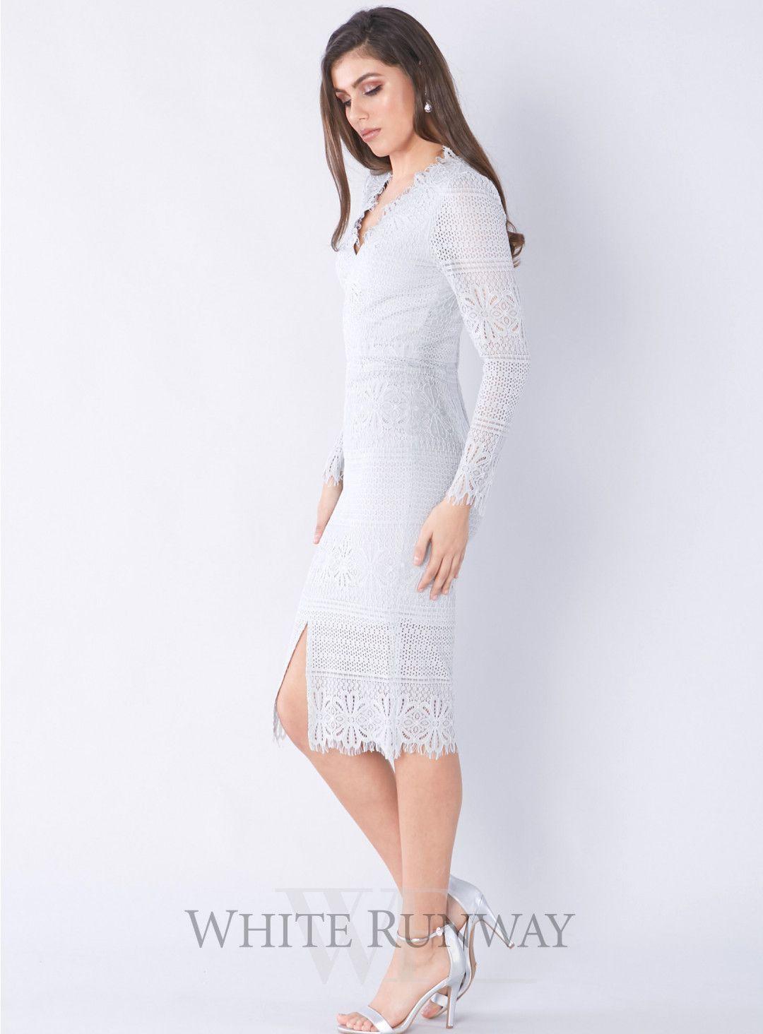 Ruby Long Sleeve Dress Long Sleeve Dress Dresses Wedding Guest Dress [ 1464 x 1080 Pixel ]