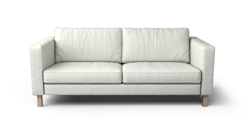 Karlstad 3 Seater Sofa Cover | A Board of Home Feelz | Leather sofa ...