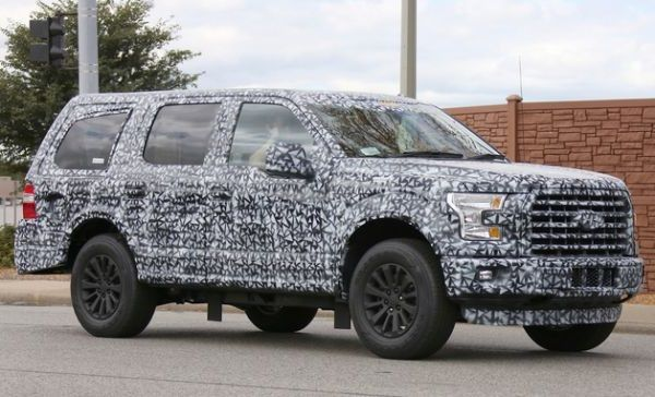 2018 Ford Expedition spy photo 8 passenger SUV