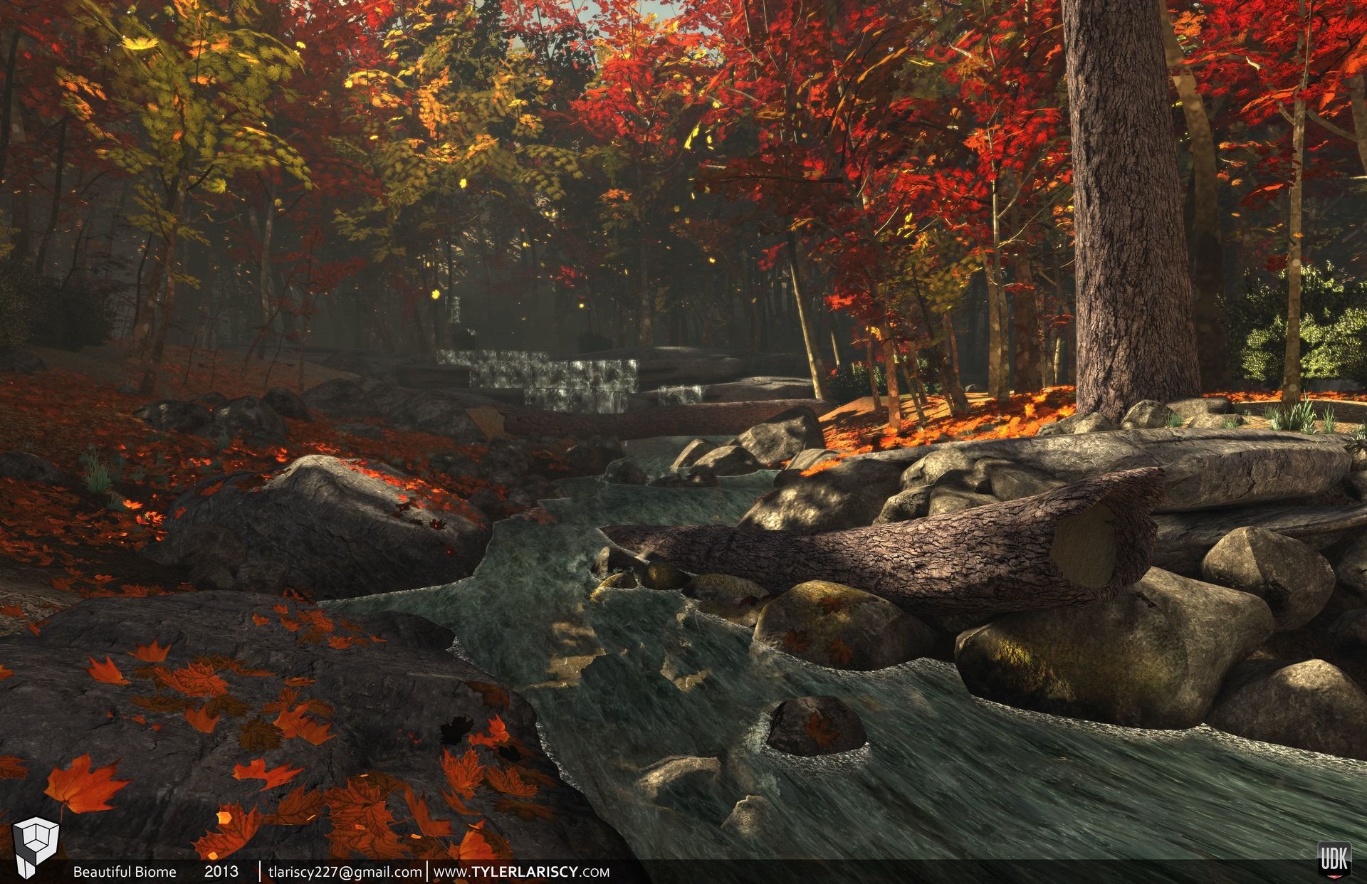 ArtStation Temperate Deciduous Forest Biome, Tyler