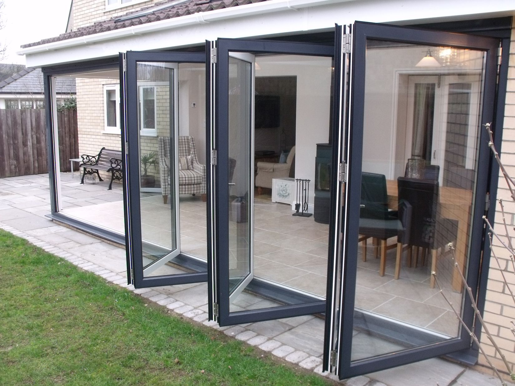 Image result for accordion glass doors cost | Green House ...