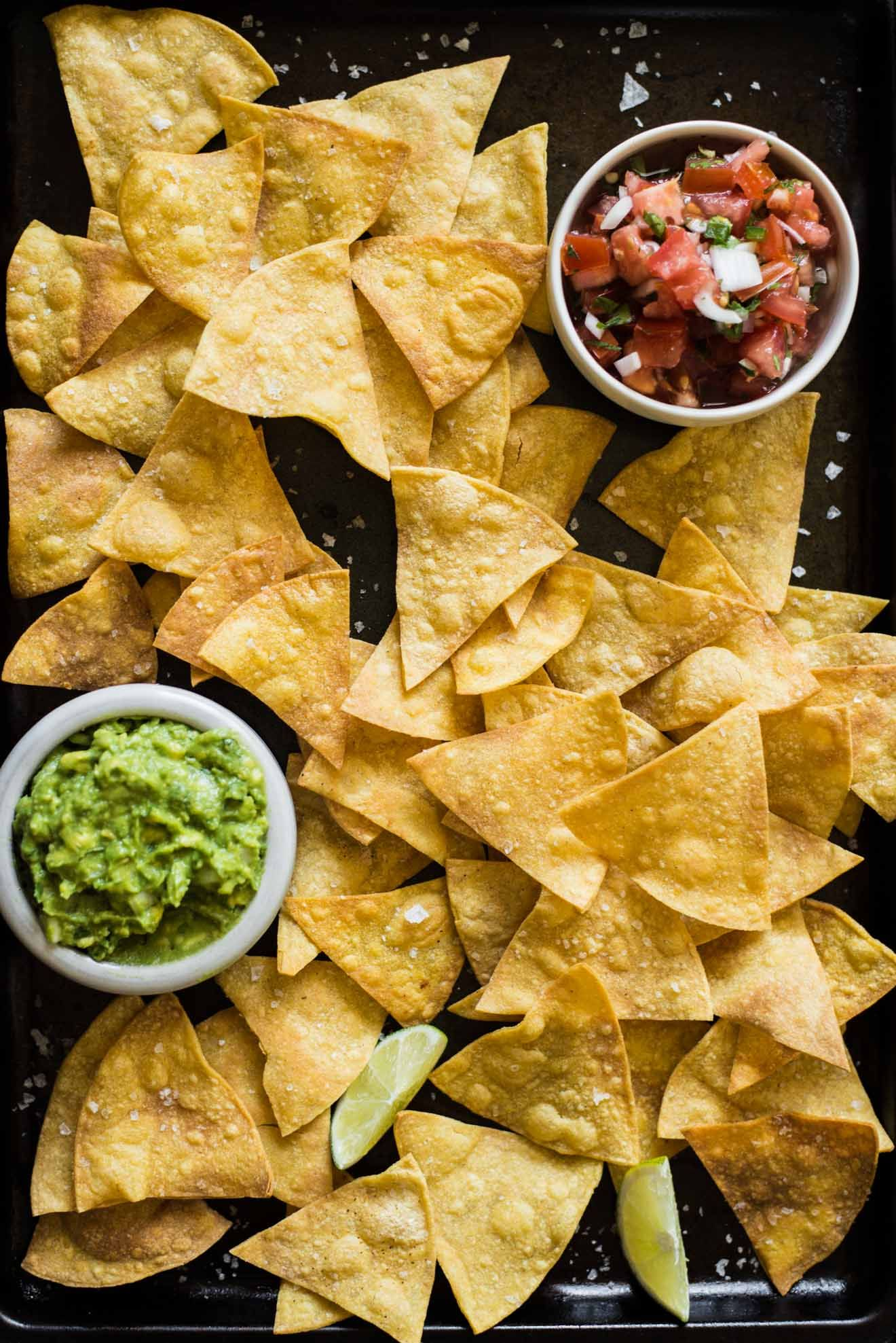 How to Make Baked Tortilla Chips | Recipe | Gluten free ...
