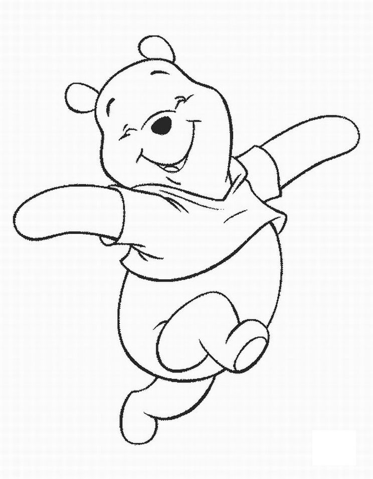 Free Printable Winnie The Pooh Coloring Pages For Kids Bear Coloring Pages Disney Coloring Pages Cartoon Coloring Pages