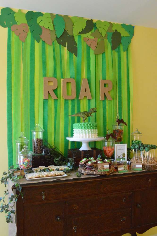 Dinosaurs Birthday Party Ideas Non Gender Party Ideas