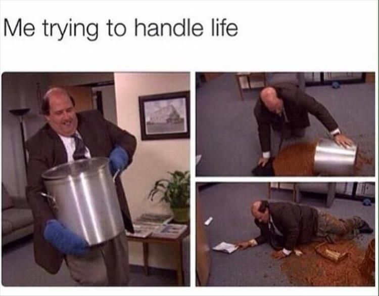 Adulting Is A Lot Harder Than I Thought It Was Going To Be 26 Pics Office Jokes Office Humor Office Memes