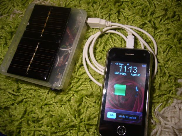 How to Make a Solar Usb Charger from Old garden Lights